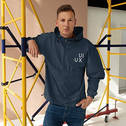 UI UX Designer Champion Packable Jacket Navy