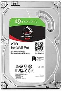 Seagate 2TB IronWolf Pro 7200RPM SATA 6Gb/s 128MB Cache 3.5-Inch NAS Hard Disk Drive (ST2000NE0025)