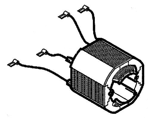 Magnetkörper Gewickelt 230V 50Hz Mafell 084521 für KSP 85 F bis Masch.-Nr. 805439