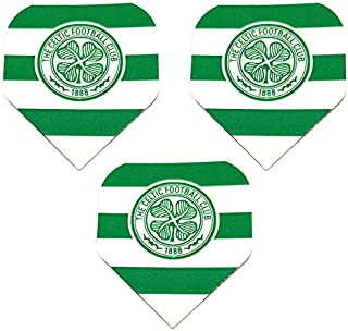 Art Attack Celtic Scottish Premier Team Football Soccer 75 Micron Strong Dart Flights (1 Set)