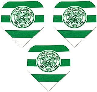 Art Attack Celtic Scottish Premier Team Football Soccer 75 Micron Strong Dart Flights (1 Set)