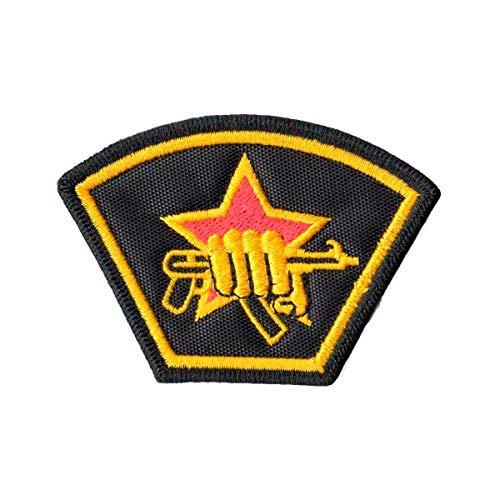 Patch Bordado - KGB Serviço Secreto Urss Guerra Fria PL60339-292 Fecho de Contato