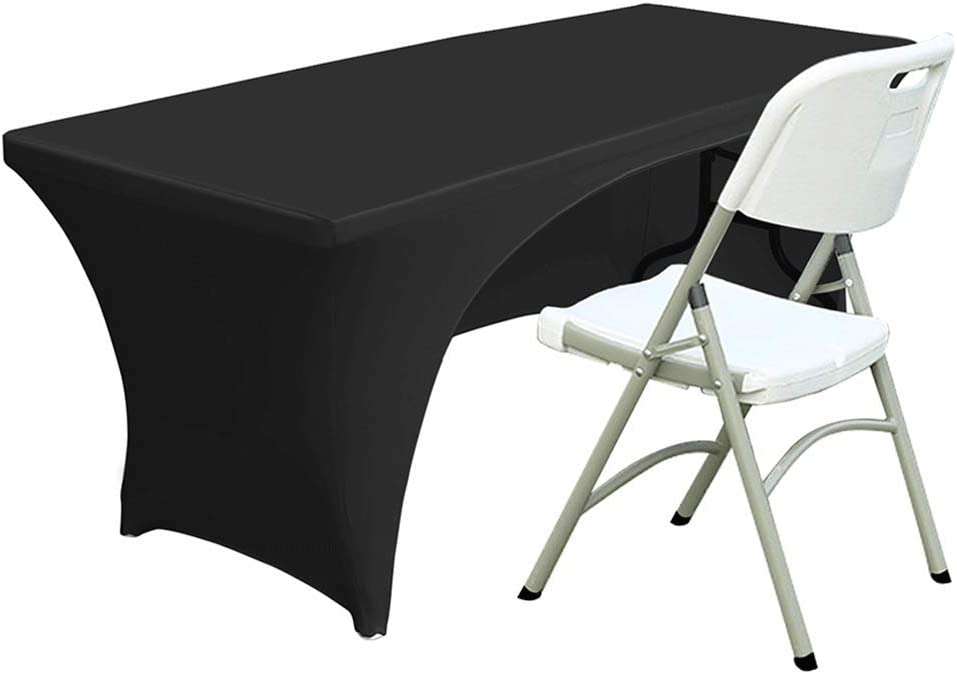 ABCCANOPY Spandex Open Back Table Cover T Under blast sales Fitted ft. 6 Polyester Max 64% OFF