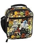 Lego Star Wars Boy's Girl's Adult Soft Insulated School Lunch Box (One Size, Lego Star Wars)