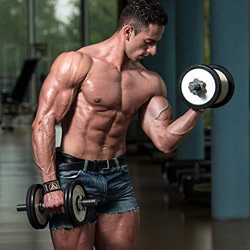 Authentisch RDX Training Gewichtheber Griffe Fitness Handgelenk Stütze Handgelenkbandage W1B - 6