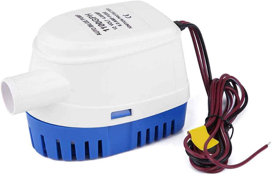 Denver Mall Chipoee 12V Automatic Japan's largest assortment Submersible Boat Water Bilge Pump All-in-o