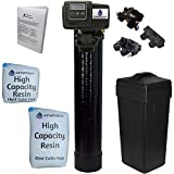 AFWFilters 5600SXT Water Softener, 48k, Black, Bypass with 3/4' Connection