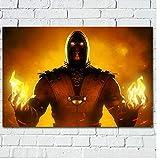 SBGM Poster und Drucke Scorpion (Mortal Kombat)