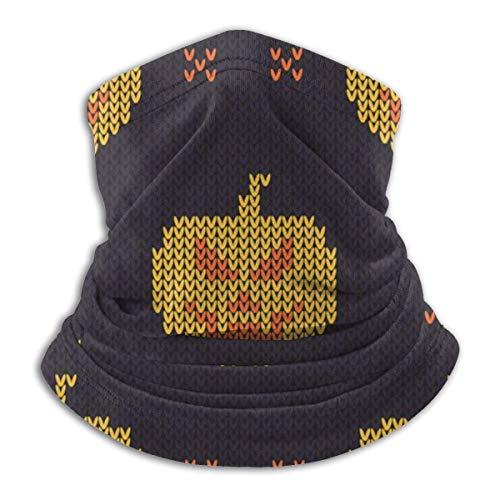 Lzz-Shop Gebreid met gekleurde ruches nekwarmer - hoofdbanden sjaal hoofdwikkeling, hals gamasche pijp vissen, gezicht sport sjaal