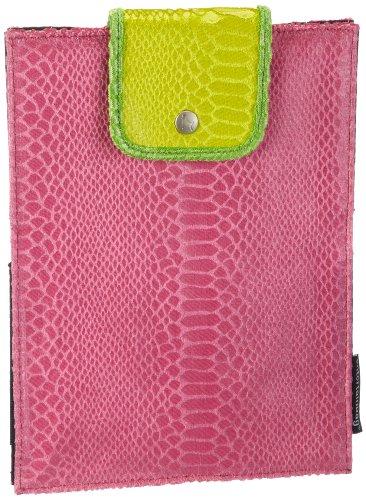 entertainbag Unisex-Erwachsene Tablet PC Cover co Geldbörsen, Pink (Snake - pink), 19x25x2 cm
