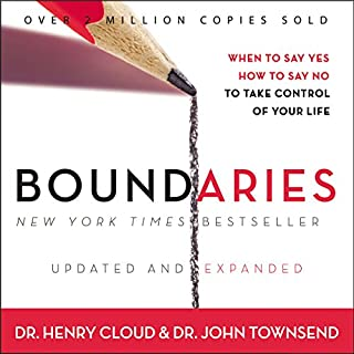 Boundaries     When to Say Yes, How to Say No to Take Control of Your Life              By:                                                                                                                                 John Townsend,                                                                                        Henry Cloud                               Narrated by:                                                                                                                                 Henry O. Arnold                      Length: 11 hrs and 18 mins     45 ratings     Overall 4.2