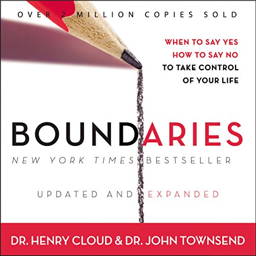 Boundaries     When to Say Yes, How to Say No to Take Control of Your Life              By:                                                                                                                                 John Townsend,                                                                                        Henry Cloud                               Narrated by:                                                                                                                                 Henry O. Arnold                      Length: 11 hrs and 18 mins     1,260 ratings     Overall 4.6