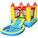 Best bounce house - Costzon Castle Bounce House with Water Slide, Jumping Review