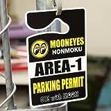 ムーンアイズ(MOONEYES) パーキングパーミット AREA-1 ブラック_PP-MG464BK-MON