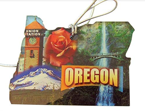 Westmon Works Oregon Christmas Ornament Acrylic State Shaped Home Decor Made in The USA