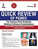 Quick Review of PGMEE, Volume 2