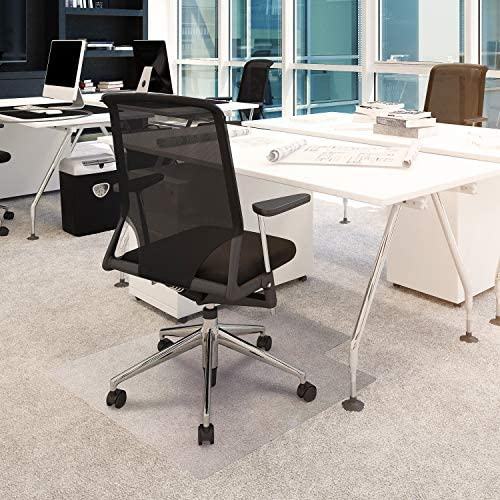 Floortex Basic Chair Mat with Lip 48 x 36 for Low Pile Carpets product image