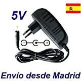 Cargador Corriente 5V Reemplazo Tablet AIRIS OnePAD 1100x4 3G TAB11G Recambio Replacement