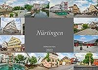 Nuertingen Impressionen (Wandkalender 2022 DIN A2 quer): Faszinierende Bilder aus der wundervollen Stadt Nuertingen (Monatskalender, 14 Seiten )