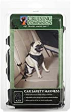Cruising Companion CR Pawprint Car Harness for Dogs, X-Large, Black