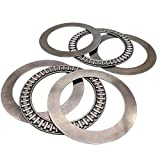 2pcs AXK6590 Thrust Needle Roller Bearing with Two Washers 65 x 90 x 3mm...