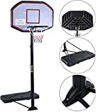 Best Portable Basketball Hoops - Movement God Pro Court Height-Adjustable Portable Basketball Hoop Review