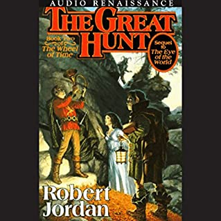 The Great Hunt audiobook cover art