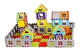 Vijaya Impex 90 pcs Jumbo Blocks House Multi Color Building Blocks with Smooth Rounded Edges -...