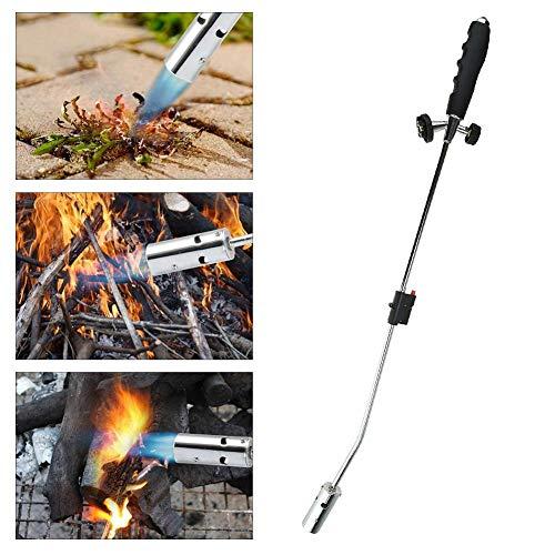 perfecti Elektrischer Unkrautbrenner Edelstahl Unkrautvernichter Grillzünder mit Druckregler Tragbares Gartenwerkzeug, Flammen temperatur 1800 °, umweltfreundlich