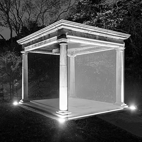Persianas Enrollables Transparentes de Montaje Exterior - para El Invernadero Pabellón Gazebo - Resistente Al Polvo a La Lluvia - 60/80/100/120/140 Cm de Ancho ( Size : 100×260cm(39.3 in×102.3 in) )