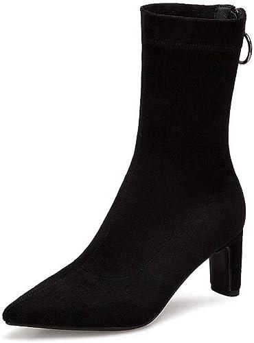 AdeeSu SXE04116, Sandales Compensées Compensées Compensées Femme - Noir - Noir, 36.5 18f