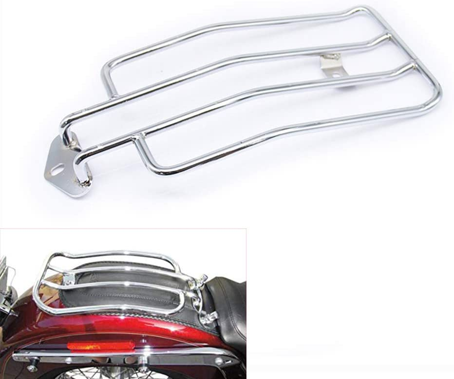 Rare Motorcycle Solo Cheap sale Seat Rear Luggage Harley Iron Sportster For Rack