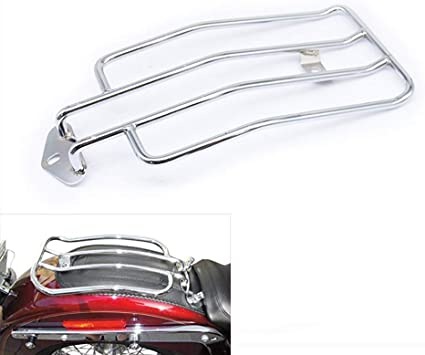 US Stock Motorcycle Solo Luggage Rack Compatible with Harley Davidson Sportster XL1200 XL883 2004-2018