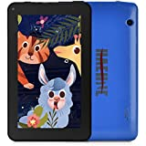 "Haehne 7 inch Tablet, Android 9.0 Pie, 1G RAM 16GB Storage, Quad Core Processor, 7"" IPS HD Display, Dual Camera, FM, WiFi Only, Bluetooth, Blue"