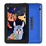 Haehne 7 inch Tablet, Android 9.0 Pie, 1G RAM 16GB Storage, Quad Core Processor, 7' IPS HD Display, Dual Camera, FM, WiFi Only, Bluetooth, Blue