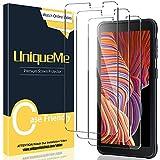 [3 Pack] UniqueMe Compatible con Samsung Galaxy Xcover 5 Protector de Pantalla, Vidrio Templado [9H Dureza] HD Film Cristal Templado