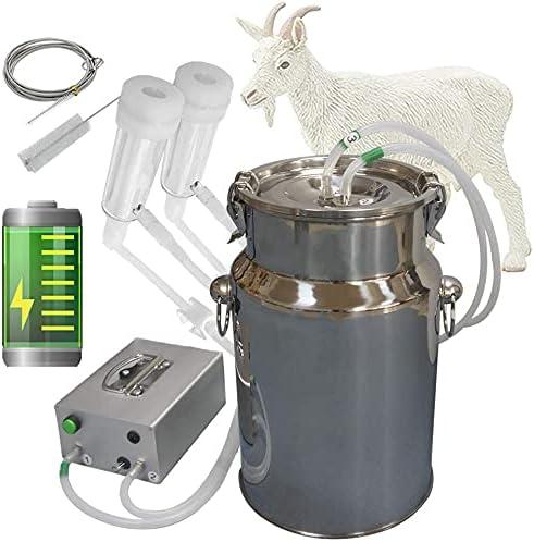 Hantop 7L Goat Milking Minneapolis Mall Machine B Al sold out. Portable Rechargeable Pulsation