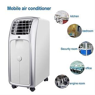 Mini silencioso Aire Acondicionado eléctrico portátil para Ventilador de acondicionamiento de refrigeración del hogar con Cristal de Hielo refrigerado 8H temporización UE
