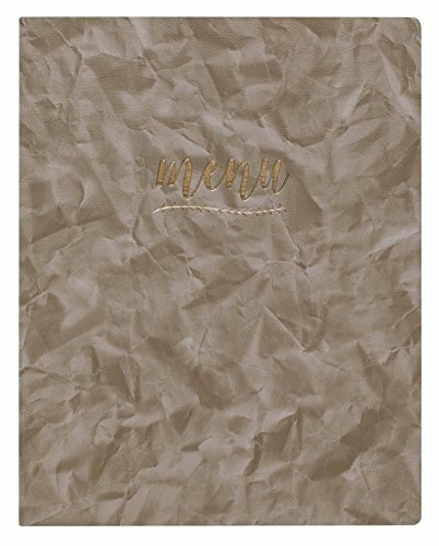 Lacor 28301 Antoine Collection Menu Cover, Maat A4, Licht Bruin
