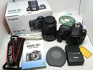中古美品 キャノン EOS 70D EOS 70D EF-S18-135 IS STM レンズキット 8469B015 デジタル一眼