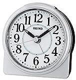 Seiko Despertador analógico Unisex de Plata qhe137s
