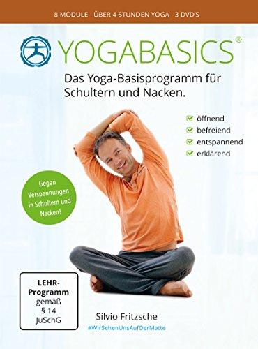 YOGABASICS: Yoga gegen Verspannung in Schulter und Nacken (3 DVDs inkl. Online-Zugang)