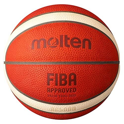 Molten BG5000 - Pallone da basket approvato FIBA, Unisex - Adulto, Palla da basket approvata dalla...