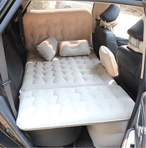 LXUXZ Cama Inflable del Coche De Aire, Colchón Asiento Trasero del Coche, para Descansar Dormir Viajar Acampar (Color : Gray, Size : 135x83cm)