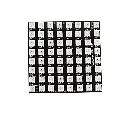 8X8 64 LED Matrix WS2812 5050 RGB mit integrierten Treibern für Arduino