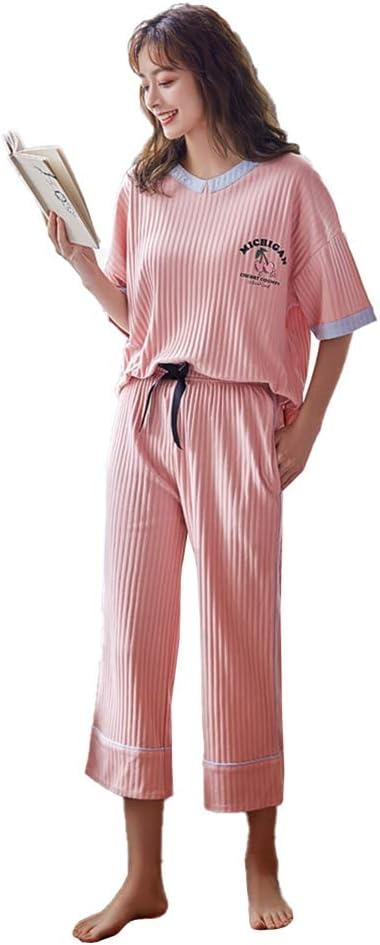 LZJDS Conjunto De Pijama para Mujer Ropa De Salón De Manga ...