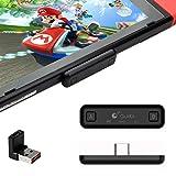 GULIkit NS07 Route Air Adaptador de Audio Bluetooth para Nintendo Switch, Switch Lite,...
