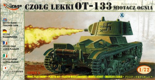 Flammpanzer OT-133 version proie finlandaise (1:72)