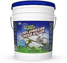 Green Gobbler 20% Horticultural Vinegar Weed Killer | Herbicide | Natural Weed Killer | Organic Weed Killer (5 Gallon Pail)