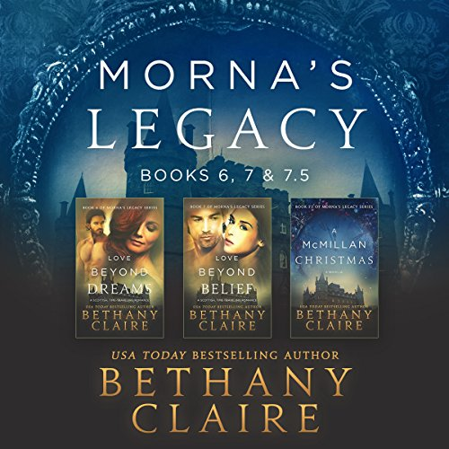 Morna's Legacy: Books 6, 7, & 7.5     Scottish Time Travel Romances (Morna's Legacy Collections, Volume 3)              Written by:                                                                                                                                 Bethany Claire                               Narrated by:                                                                                                                                 Lily Collingwood                      Length: 15 hrs and 45 mins     5 ratings     Overall 4.6